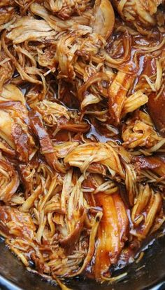 This is going to be the easiest BBQ chicken you have ever made. I'm not joking! Nothing beats the flavor. This is The Best Crockpot BBQ…