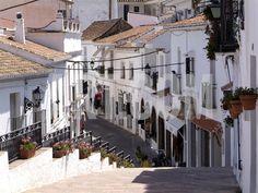 White Village of Mijas Near Torremolinos, Andalusia, Spain, Europe Photographic Print by Hans-Peter Merten at Art.com