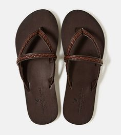 Love these!!   AEO Braided Sandal