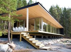Finnish wood architecture. Conoce los productos ARAUCO Soluciones Sostenibles. http://araucosoluciones.com/index.asp