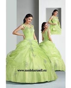 Ballkleid Abendkleid Brautkleid in Mint Grün  www.modekarusell.eu