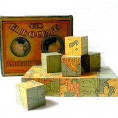 1927 Build-o-Graphy World block ...