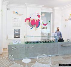 'Yoli Frozen Yogurt' Store Interior // Amseldrossel   Afflante.com
