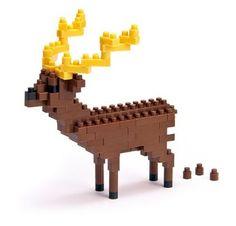 Nanoblock - Nbc-014 - Jeu De Construction - Sika Deer: Amazon.fr: Jeux et Jouets