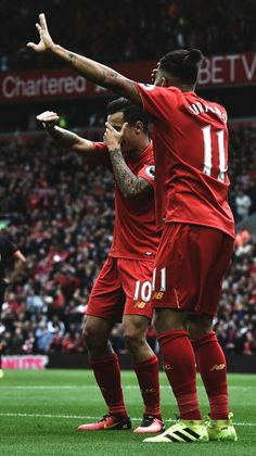 The Samba boys, Coutinho & Firmino