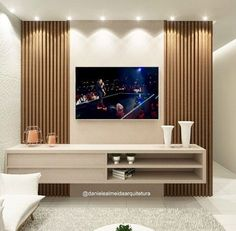 Wall Unit Designs, Tv Unit Design, Tv Wall Design, Lcd Panel Design, Dresser With Tv, Modern Tv Wall Units, Home Theater Tv, Tv Cabinet Design, Home Entertainment Centers - craftIdea.org
