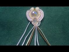 ▶ Beading4perfectionists : Different Soutache braids ( cords / threads ) explored - YouTube