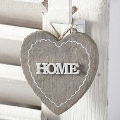 3D Hanging Heart - HOME