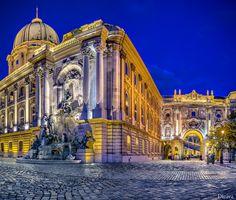 Matthias Fountain and Royal Palace, Budapest by Domingo Leiva [how I imagine Perpetua]
