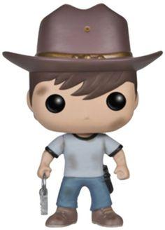 Funko - Bobugt117 - Figurine Cinéma - The Walking Dead - Bobble Head Pop 97 Carl !