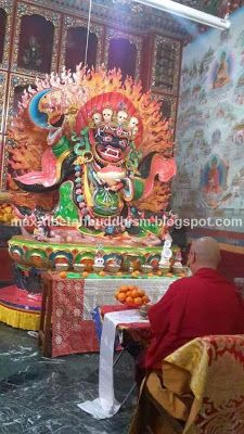 Tibetan Buddhism and Culture: The 8 Principal Dharma Protectors, Mahakala (Part 1)