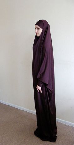 Ready to ramadan Long Silk Khimar Elegant muslim dress