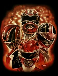 Red RANGERS.