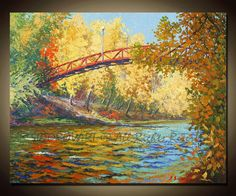 Painting Oil ORIGINAL contemporary fine art textured by sidorovart, $250.00