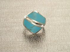 Hey, I found this really awesome Etsy listing at https://www.etsy.com/listing/227692932/turquoise-crossing-ring-turquoise