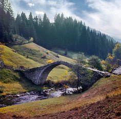 Roman bridge near Smolyan, Bulgaria