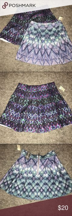 Skater Skirt Bundle! Two mini skater skirts. One small and one medium. Aeropostale Skirts Circle & Skater