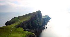 Schottland, Scotland, Isle of Skye, Neist Point, Lighthouse