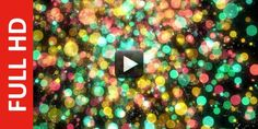 In this animation shownmulticolor particle bokeh background free hd video, this is very different a...