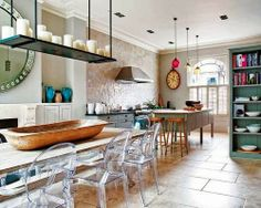 Kitchen with a flair.