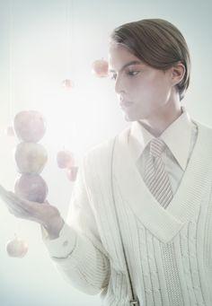 Nordic Apples by Ine Benedikte Målbakken, via Behance