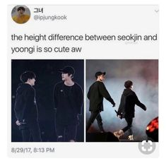 It legit just got to me that yoongi is actually hella short, my lil bean
