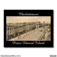 Charlottetown PEI Postcard