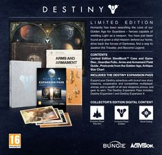Buy Destiny Limited Edition on PlayStation 4 | Free UK Delivery | GAME