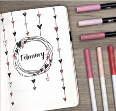 """the wait is over! my february plan with me + bullet journal setup is live! spolier alert: there…"" ""the wait is over! my february plan with me + bullet journal setup is live! spolier alert: there…"" February Bullet Journal, Bullet Journal Cover Page, Bullet Journal Notebook, Bullet Journal Themes, Bullet Journal Spread, Journal Covers, Bullet Journal Inspiration, Bullet Journals, Bullet Journal Habit Tracker"