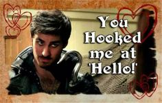 Once Upon A Time Captain Hook Valentine