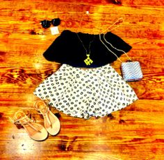 Outfit of the day! Perfect for any summer day!