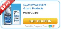 Free Right Guard at Dollar Tree!