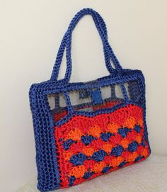 Multicolor shoulder bag Summer bag Summer trends by MariliartbyM