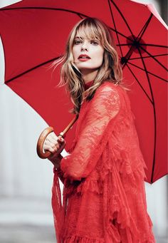 This 'Lady in Red' editorial of Julia Stegner, photographed by Regan Cameron for Harper's Bazaar UK, is our colour inspiration this week. Such a bold, …