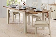 Buy Hartford® Painted Extending DiningTable from the Next UK online shop