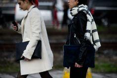 Milan Fashion Week Fall 2016 Street Style Revs Up - -Wmag
