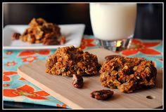 Carrot breakfast cookies
