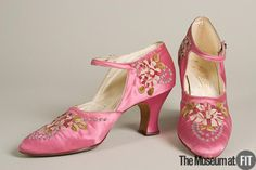 Shoes F. Pinet, 1925 The Museum at FIT OMG that dress!