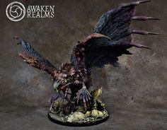 Phoenix painted by AWAKEN REALMS