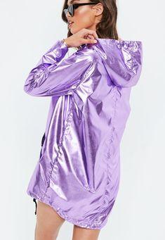 Clear Rain coat For Women - Rain coat Black - Clear Rain coat For Women - Yellow Rain coat Kids Lila Outfits, Purple Outfits, Cool Outfits, Fashion Outfits, Holographic Jacket, Holographic Fashion, Rain Fashion, Sixties Fashion, Future Clothes