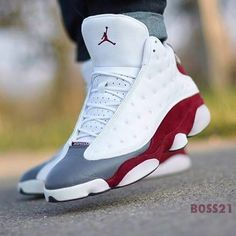 I Like Air Jordan 13 Shoes. Cheap Jodan The Air Jordan 13 was released in which was the last season that Jordan played for the Bulls. While wearing the Air Jordan Jordan broke Karemm Abdul Nike Air Jordan, Air Jordan Shoes, Jordan 13, Jordan Swag, Jordan Shoes For Men, Jordan Grey, Jordan Basketball, Basketball Shoes, Sneakers Mode