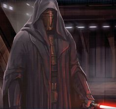 Darth Revan, former Jedi Knight and Dark Lord of the Sith.