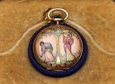 Art Nouveau Omega pocketwatch