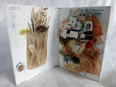tea bag book with fairy tale flavour by Ines Seidel