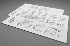 Simple and Clean Resume/CV template to help you land that great job. All artwork and text is fully customisable; Easily edit the typography, wording, colors and layout. Each template uses a strong baseline/document grid which will allow you to edit or add to the layout very easily. Cover Letter For Resume, Cover Letter Template, Letter Templates, Creative Cv Template, Modern Cv Template, Nursing Resume Template, Resume Templates, Cv Simple, Job Resume