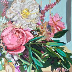 Painting by Kate Mullin. Oil. Big Burst. www.katemullinart.com