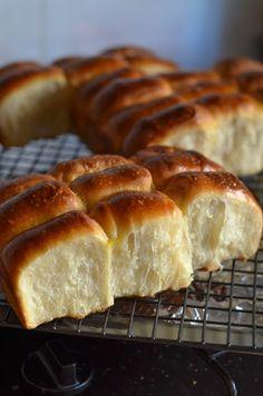 Sourdough shred buns.....so lovely. Little bread pillows.