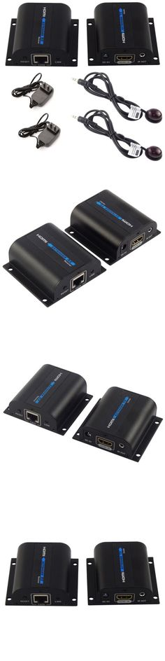 Video Cables and Interconnects: Hdmi 1080P Network Extender Over Single Cable With Ir Cat5e/6 Ethernet Cable 3D BUY IT NOW ONLY: $30.45
