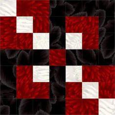 Leavenworth Nine Patch Quilt Block – Part 1 | by bonny.shatraw
