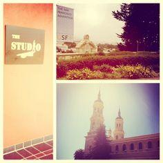 (the studio) Good Day In SF @USFca University Of San Francisco, Good Day, Taj Mahal, Studio, Building, Travel, Painting, Instagram, Buen Dia